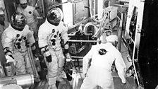 Lunar Module Moon landing dress rehearsal