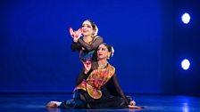 Shree Savani and dance partner Shreya Vadnerkar performing 'Maa'