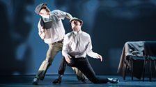 Max Revell and Tom Hughes-Lloyd danced to 'Take 5' by Dave Brubeck for their duet