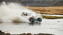 We suspect Freddie's taken the whole 'off-road driving' thing a little too literally here