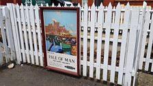 Isle of Man steam train