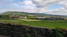 View from Cregneash Village