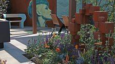 The Lower Barn Farm Outdoor Living Garden, designed by Robert Grimstead - Silver-gilt medal