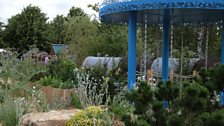 The Thames Water Flourishing Future Garden, designed by Tony Woods - Gold medal winner
