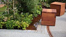 Crest Nicholson Livewell Garden, designed by Aleksandra Bartczak - Silver medal winner