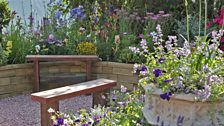 The Therapeutic Garden, designed by Tony Wagstaff