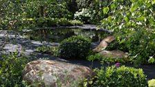 Smart Meter Garden, designed by Matthew Childs - Gold medal winner