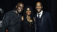 Trevor Nelson, Heather Small and Tommy Blaize