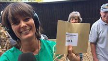 The final clue was at a vintage ploughing event in Bacton
