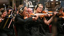 BBC Concert Orchestra 1st violins led by Charles Mutter
