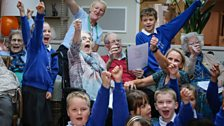 Intergenerational sessions at Colten Care