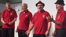 Beeston Memory Cafe was joined by the Okey Dokey singers