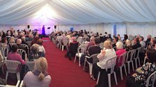 Appleby House in Epson held an opera event