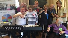 Andrews Court Care Home joined in the fun