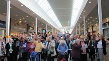 Manor Walks Shopping Centre hosted a singalong