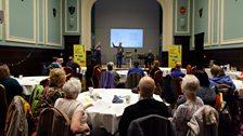 Luminate Scotland held an inclusive singing event