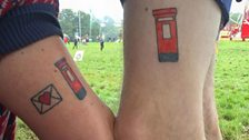 """An original member of the secret post office has a post box tattoo on her arm to prove it."""