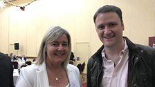 Rhonda Geary Balmoral Show operations director with David Maxwell