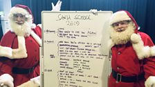 """""""'Kids come to see Father Christmas for one thing,' instructor James says. 'Magic!'"""""""