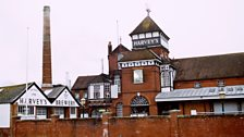 """""""The brewery has the look of an abbey and is known locally as Lewes cathedral."""""""