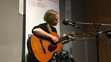 Rowan Godel playing live on the Durbervilles Folk & Roots Show