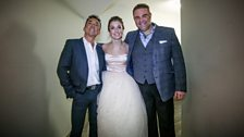 Bruno Tonioli, Carly Paoli and Joseph Calleja