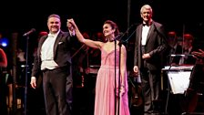 Joseph Calleja, Carly Paoli and conductor Richard Balcombe