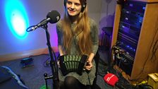 Lilian Grace performing live on The Durbervilles Folk & Roots Show