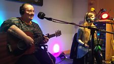 Maddie Morris and Lilian Grace performing live on The Durbervilles Folk & Roots Show