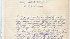 Wally Hitchings Diary