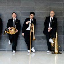 Suite of German dances arr. Romm for brass ensemble