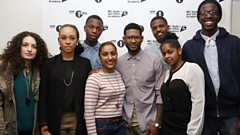 Usher Q&A at Radio 1 and 1Xtra's Academy