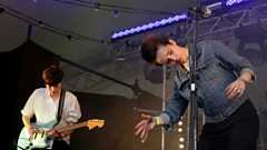 Savages perform Husbands at Hackney Weekend 2012