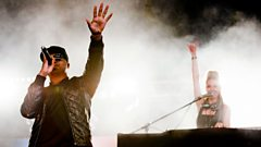 Taio Cruz - Radio 1's Hackney Weekend