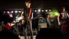 Hawk Eyes at Reading Festival 2012