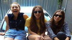 HAIM play live in session and chat to Huw Stephens