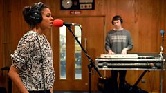 AlunaGeorge in the Live Lounge for Trevor Nelson