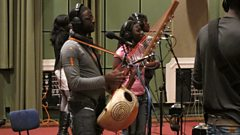 Listen to Seckou Keita in session for World on 3