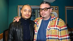 José James joins Huey in the studio