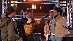 Mumford & Sons chat with Jo Whiley