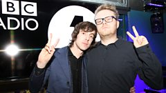 Miles Kane catches up with Huw Stephens