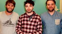 Frightened Rabbit – Tom Morton interview and session