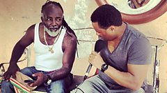 Freddie McGregor catches up with Robbo Ranx