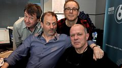 Colin Newman and Graham Lewis of Wire join Radcliffe and Maconie
