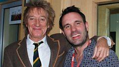 Rod Stewart joins Shaun Keaveny