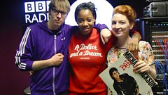 Amplify Dot Joins Phil Taggart and Alice Levine in the studio