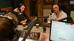 Gerry Diver and Lisa Knapp talk to Tom Robinson