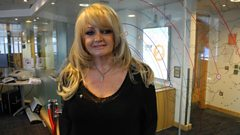 UK Eurovision hopeful Bonnie Tyler chats to Steve Wright