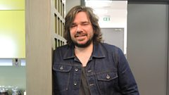 Matt Berry joins Radcliffe and Maconie in the studio