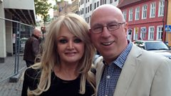 Bonnie Tyler chats to Ken Bruce
